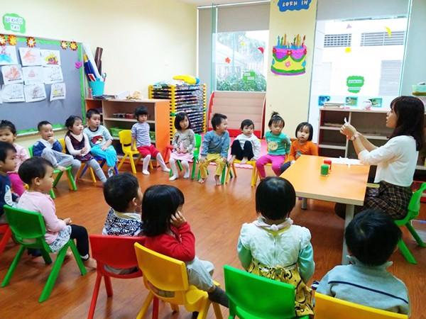 sàn nhựa cho trường mẫu giáo 4