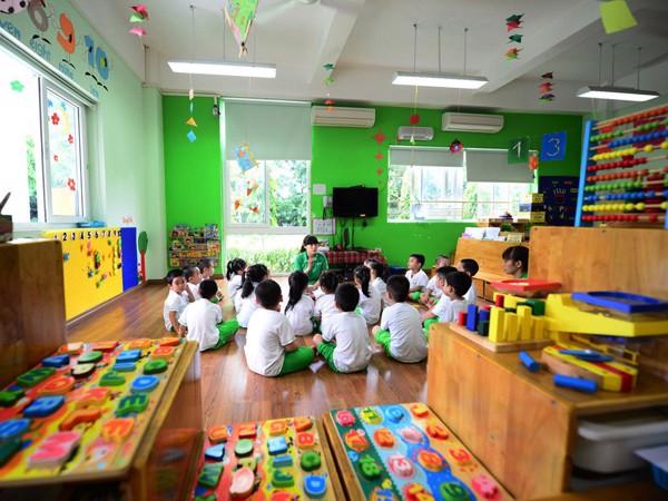 sàn nhựa cho trường mẫu giáo 1
